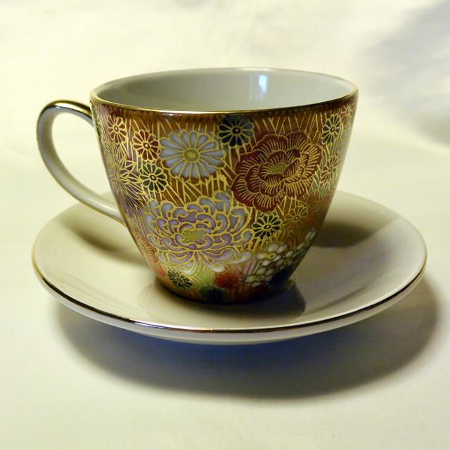 花詰コーヒーカップ