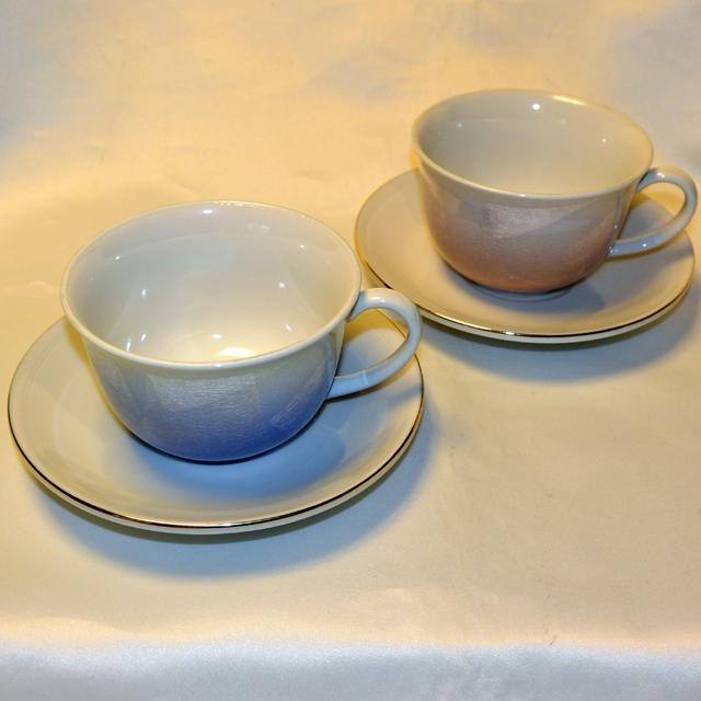 銀彩コーヒー(青・ピンク)
