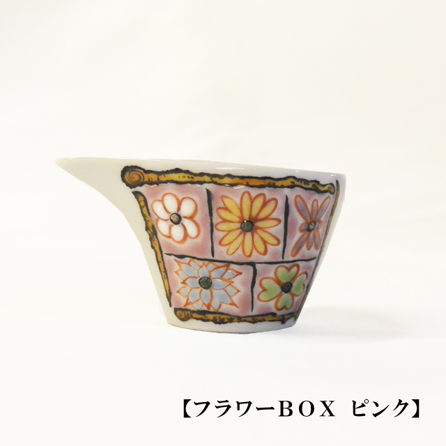 岩田商店 ミルチュウ フラワーBOX ピンク