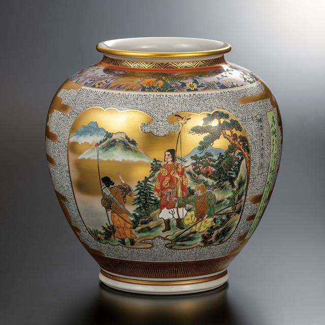10号花瓶・明治天皇御製集
