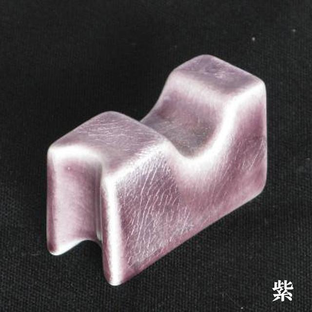 銀彩 葉巻立て 紫
