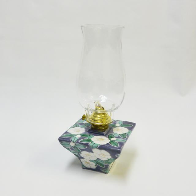オイルランプ 鈴木晶子 白椿