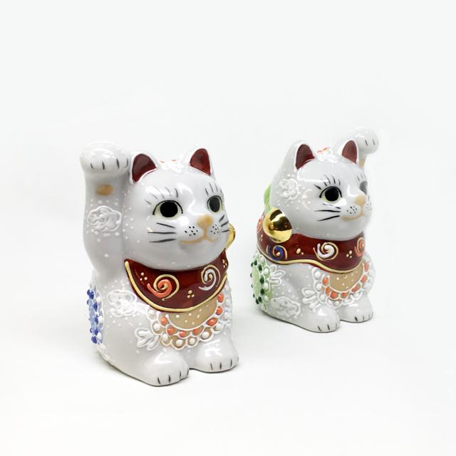 2号招き猫 白盛