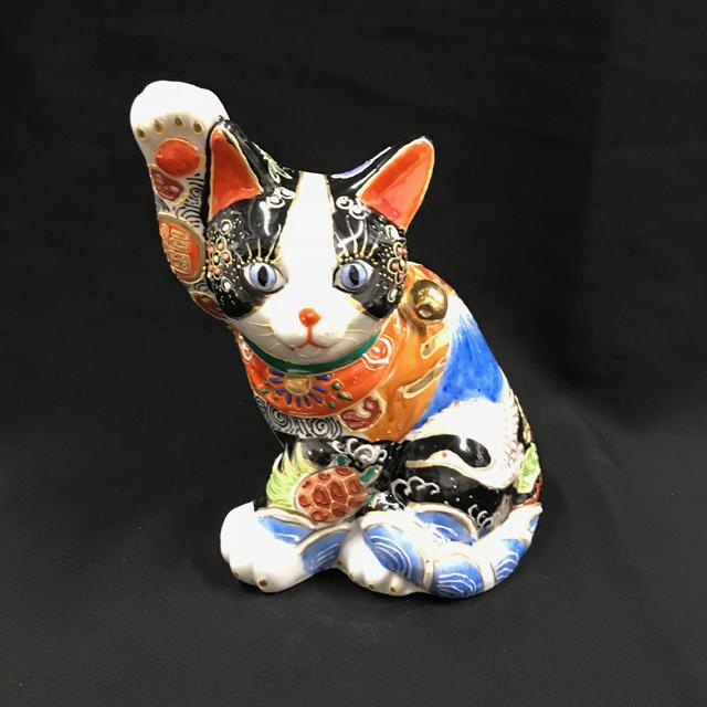 5号 横招き猫 吉祥盛