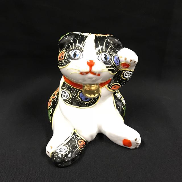 子猫スコティッシュフォールド 黒盛ブチ