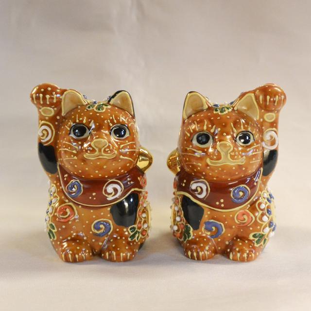 2号招き猫 赤盛