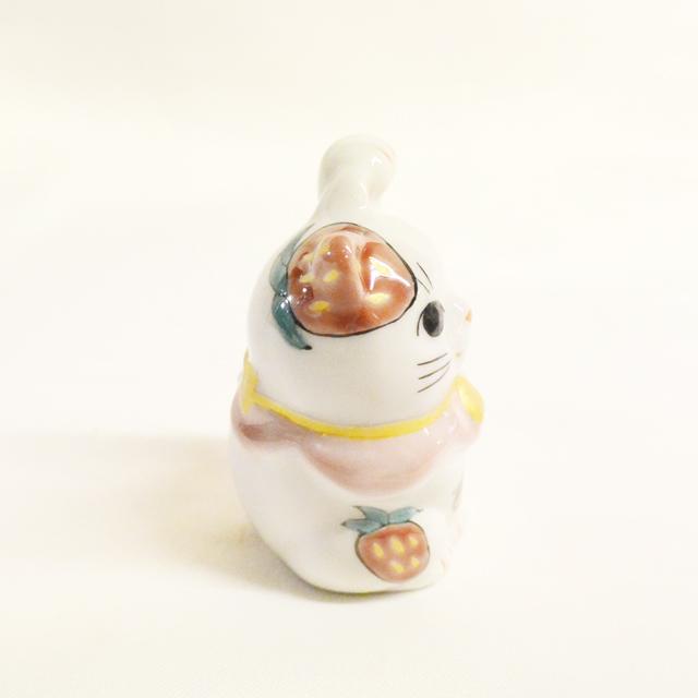 1.5号招き猫 4月イチゴ 鏑木オリジナル