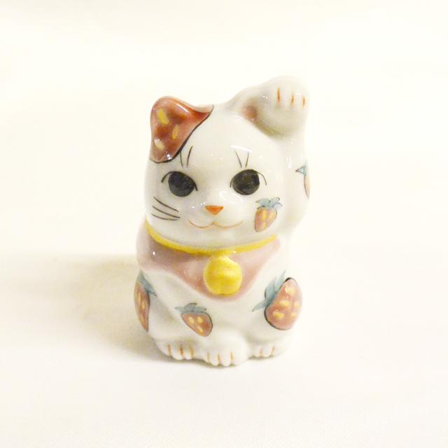 鏑木オリジナル 2号 4月タンポポ 招き猫