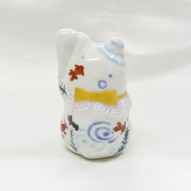 2号招き猫 8月金魚 鏑木オリジナル