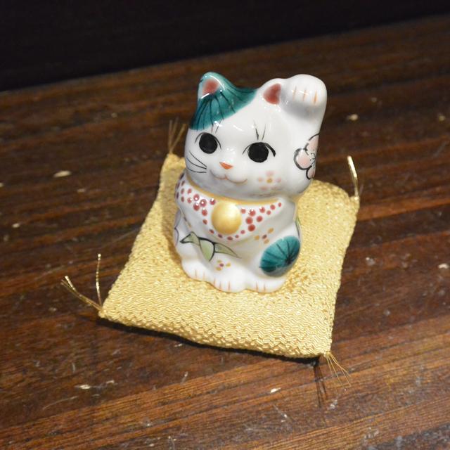 2号招き猫 1月松竹梅福猫 鏑木オリジナル