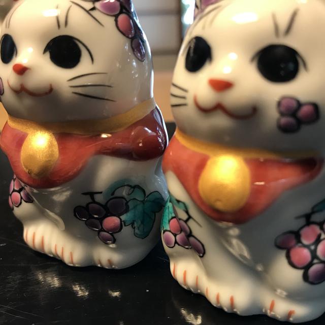 1.5号招き猫 11月ぶどう