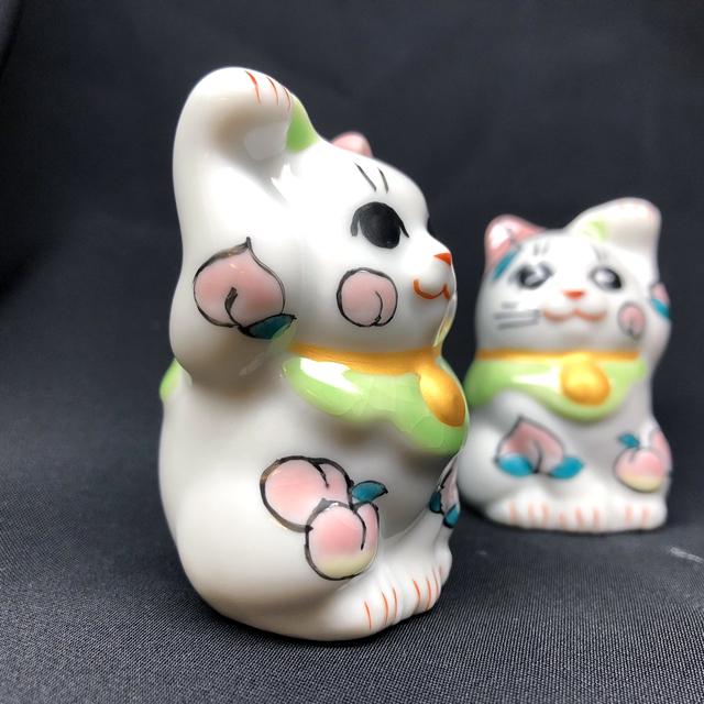 1.5号招き猫 1月 桃