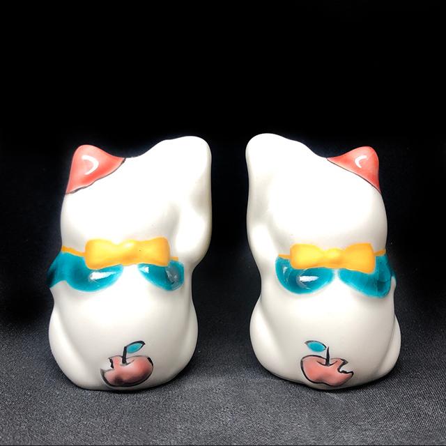 1.5号招き猫 3月 りんご