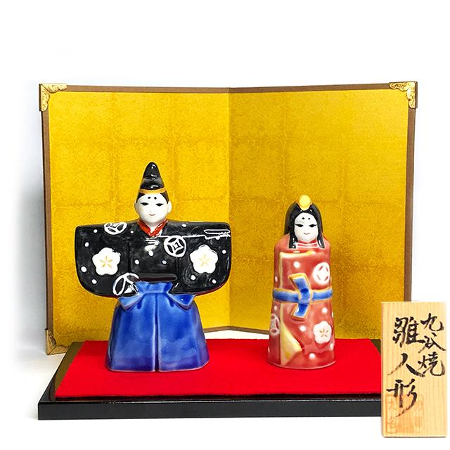 【おひな様】七宝紋 立雛人形【鏑木オリジナル】