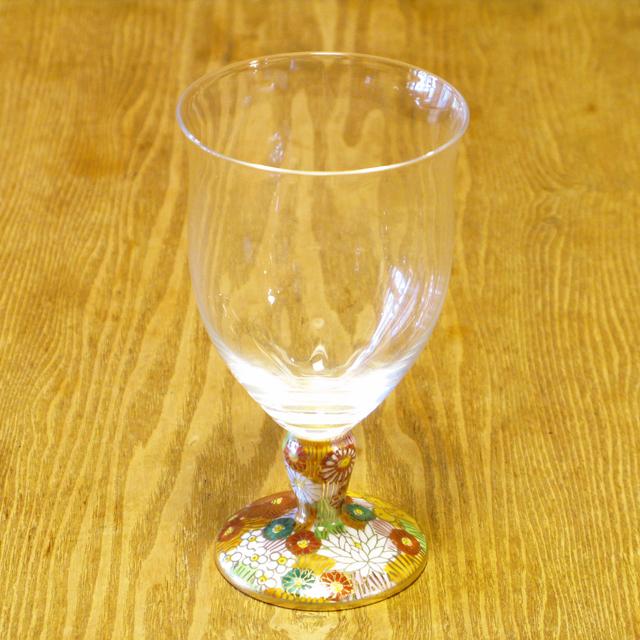 金花詰 フリーグラス 九谷和グラス