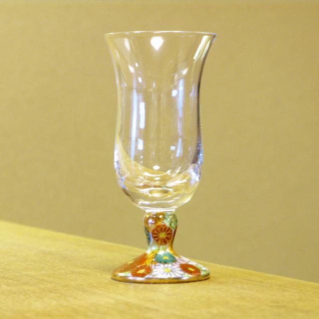 金花詰 冷酒グラス 九谷和グラス