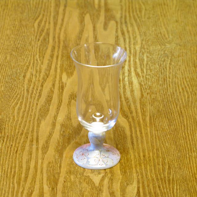 花の舞 冷酒グラス 九谷和グラス