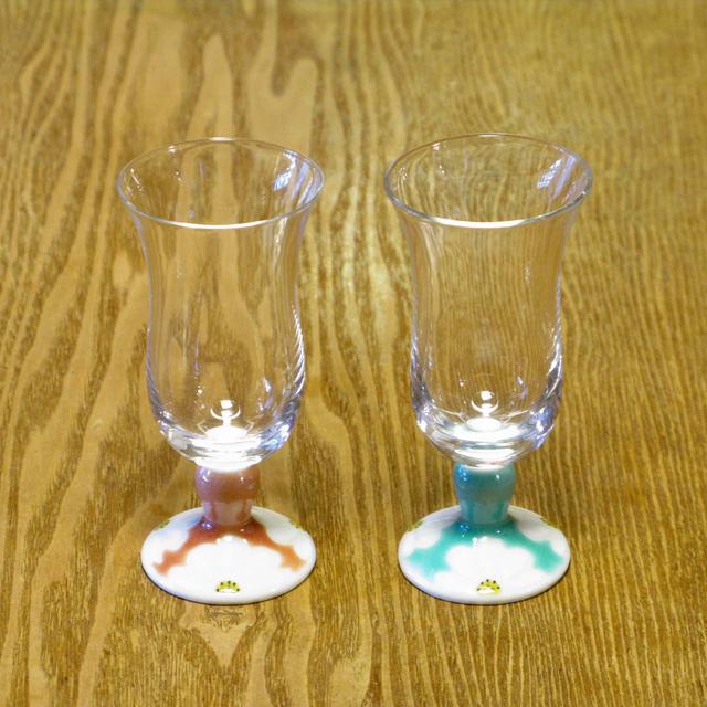 マーガレット 冷酒グラス 九谷和グラス