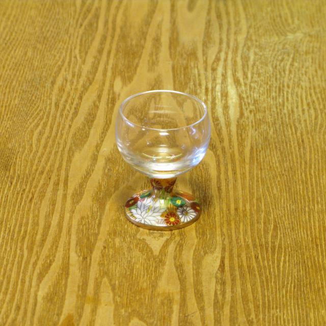 金花詰 九谷和グラス 馬上グラス