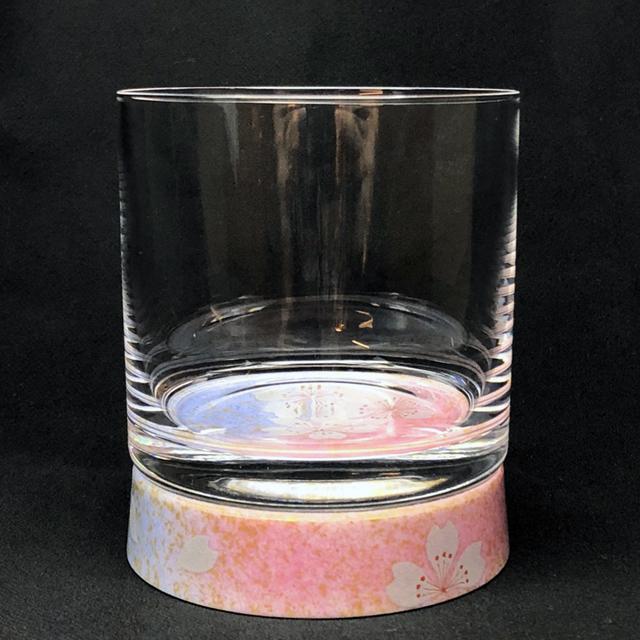 花の舞 ロックグラス 九谷和グラス
