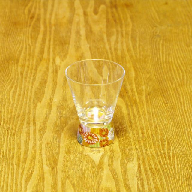 金花詰 ショットグラス 九谷和グラス
