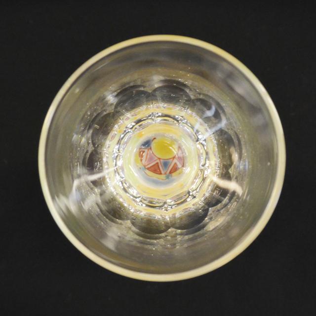 街の広場 万華鏡ショットグラス(十面切子) 九谷和グラス