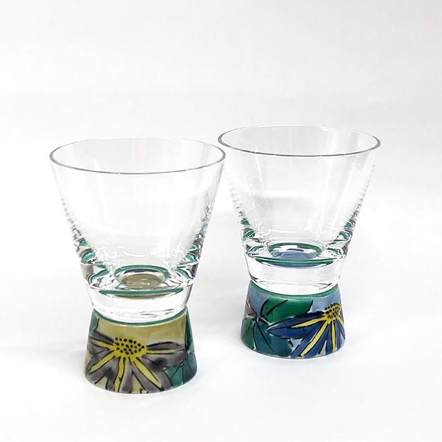 ショットグラス 鉄仙アメ釉