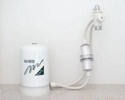 MIZUTOMO 卓上2WAY フィルター付 ミネラル浄水器 M-8BF4-WH
