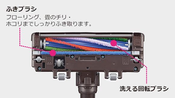 コードレススティッククリーナー HC-VXG30P-N