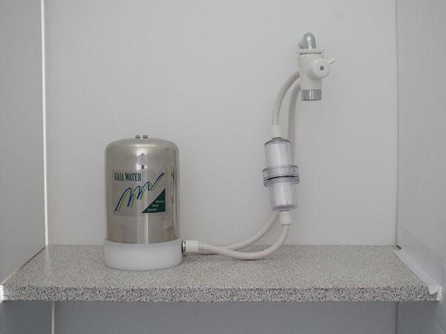 MIZUTOMO 卓上2WAY フィルター付 ミネラル浄水器 M-8BF1-ST