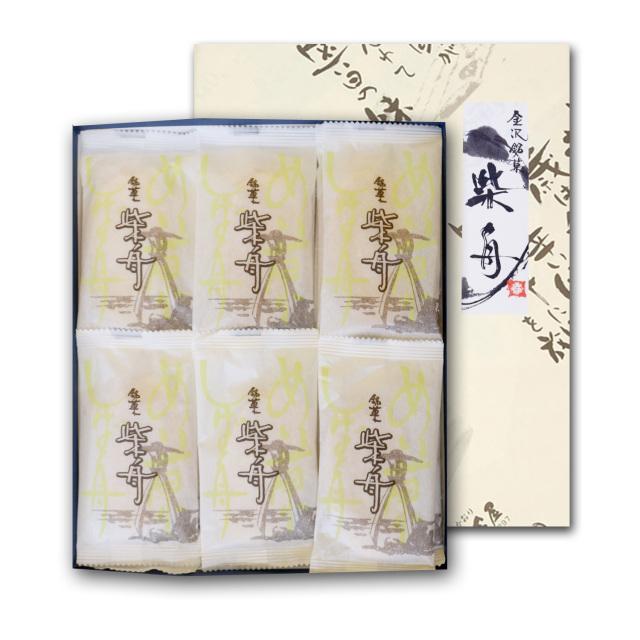 金沢伝統銘菓「柴舟」 21枚入り箱包装