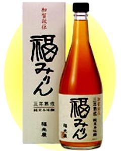 """良い""""みりん""""は、飲んでも美味!「福光屋」福みりん 720ml"""