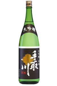 石川の酒蔵 吉田酒造 手取川本流大吟醸 1800m お料理との相性も考えた、美酒