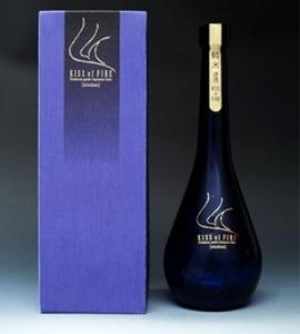 鹿野酒造 常きげん 「キス・オブ・ファイア」720m<br>ルイ・ヴィトンのオープニングセレモニーにも使われた酒