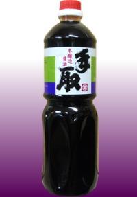吉田屋の醤油 美味濃厚!「本醸造 手取」1リットル