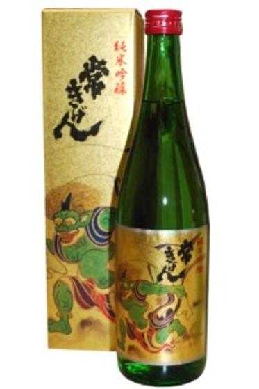 鹿野酒造 常きげん 風神(純米吟醸) 720m