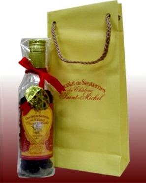 貴腐ワインのチョコレート<br>ショコラ・ド・ソーテルヌ<br>専用のバッグ入 180g