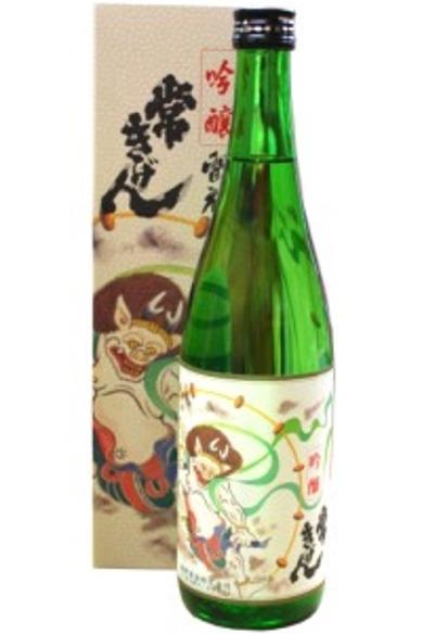 鹿野酒造 常きげん 雷神(吟醸) 720m