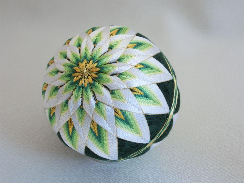 二つ菊(もえぎ)