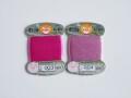 オリヅル 絹手縫い糸 40m巻 バラ(毬屋特注色:003~004番)