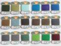 オリヅル 絹手縫い糸 40m巻 バラ(113~135番)