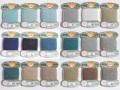 オリヅル 絹手縫い糸 40m巻 バラ(34~53番)