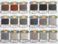 オリヅル 絹手縫い糸 40m巻 バラ(54~71番)