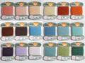 オリヅル 絹手縫い糸 40m巻 バラ(93~112番)