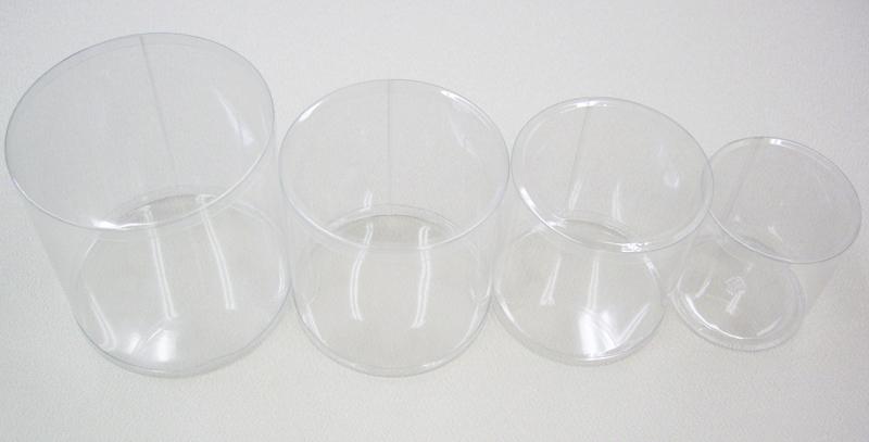 円筒ケース 4サイズセット