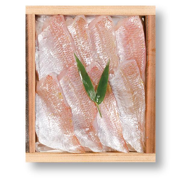 小鯛の笹漬け (すずめ小鯛) 井桁木箱入り 1個 [_212003_]