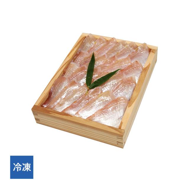 【冷凍】 すずめ小鯛 (小鯛の笹漬け) 井桁木箱 特大500g 半樽5.5個分[_215501_]