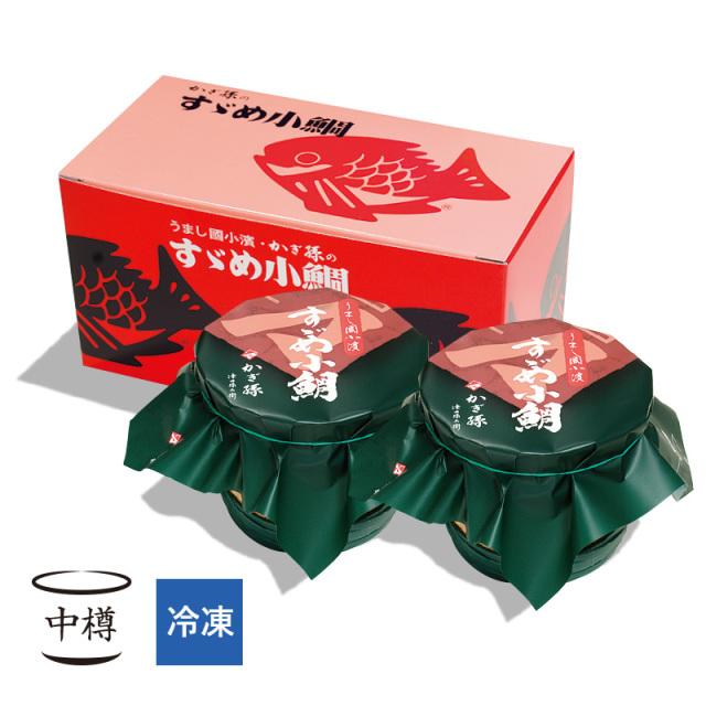 【冷凍】 すずめ小鯛 (小鯛の笹漬け) 中樽2個入 [_210202_]