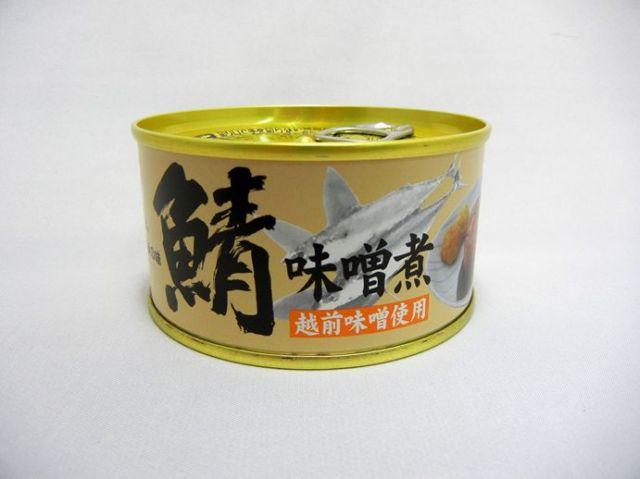 鯖街道の鯖 特大鯖の缶詰 味噌煮 越前味噌使用[_328104_]【常温商品 化粧箱なし】