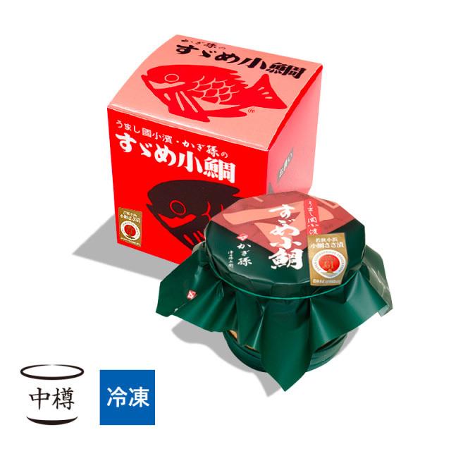 【冷凍】 すずめ小鯛 (小鯛の笹漬け) 中樽1個入 [_210201_]
